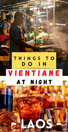 Here's what to do in Vientiane at night if you want to experience the Vientiane nightlife with markets, lounges, restaurants, dive bars, night clubs & more! Laos Travel, Asia Travel, Vietnam Travel, Travel Abroad, Luang Prabang, Travel Guides, Travel Tips, Travel Plan, Travel Advice