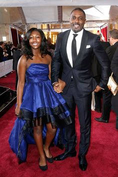 Idris Elba took his daughter as his Oscars date and now we love him even more  - Cosmopolitan.co.uk