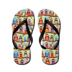 funky owl pictures | Funky Owl Flip Flops | review | Kaboodle