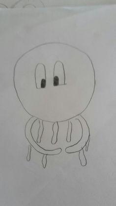Schets zee octopus