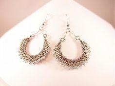 Silver vejáriky would BKdesign - SAShE.sk - Handmade Earrings