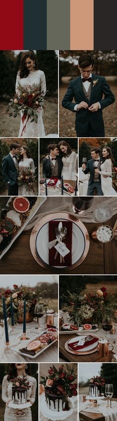 photo byB. Matthews Creative Planning a wedding in the winter months and seeking inspiration for your color palette? Look no further than these winter wed