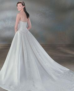 wedding dresses a line wedding dresses 2013 wedding dresses mermaid with sleeves a-line/princess strapless chapel train wedding dress for brides 2014 style