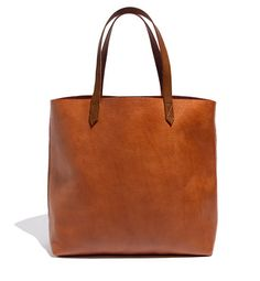 Madewell Transport Tote in Cognac