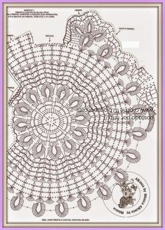 Todo crochet: Blusa tejida al crochet con motivo circular