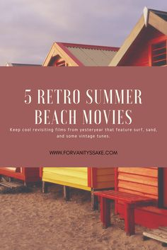 Stuck inside this summer? Check out these beach movies!