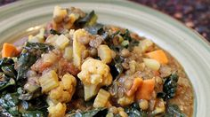 Curried French Lentils