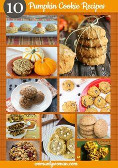 10 Pumpkin Cookie Recipes