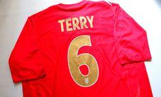England 2006/08 away football shirt John Terry by Umbro #england #threelions #terry #johnterry #englandteam #footballshirt #vintage #soccerjersey #jersey #umbro