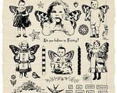 La Bella Vita Rubber Stamp Collection by oxfordimpressions on Etsy