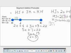 Worksheets Segment Addition Postulate Worksheet segment addition postulate for geometry a guided inquiry approach youtube