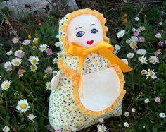 THREE SWEETHEART cloth fabric Dolls pattern sewing PDF by PUPERITA, $4.80
