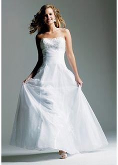 Strapless Prom Dress(Item-A) by Dressilyme.com