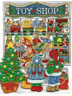 Vintage Toy Shop Cross Stitch Favourites Christmas Special Issue Hardcopy