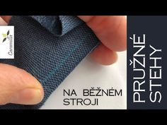 Jak šít pružný materiál na běžném šicím stroji | Caramilla Easy - YouTube Sewing Projects, Youtube, Handmade, Bags, Scrappy Quilts, Hand Made, Purses, Totes, Craft