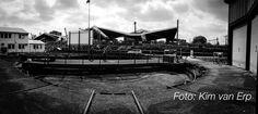 #polloods in Spoorzone Tilburg Polygonale loods zoekt nieuwe bestemming. Foto; Kim van Erp