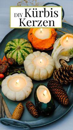 Fall Diy, Pistachio, Halloween Diy, Fall Decor, Candles, Table Decorations, Flip Flops, Instagram, Decorating Ideas