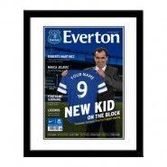 Everton FC personalised magazine cover