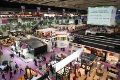 Aerial Shot of the Ideal Home Show in 2011.