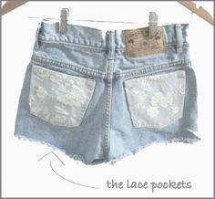 lace pocket