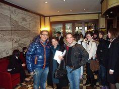 Studenti e docenti prima dell'inizio della tavola rotonda - V° GPAV @ Hotel Amadeus di Venezia.