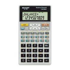 Sharp Amortization Finance Cal