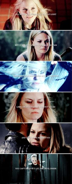 They said you were a m o n s t e r. Only on the inside.. #ouat