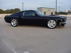 Pro touring 69 Mustang....one day I will own this car
