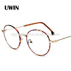 Vintage Round Eye Glasses Frame Men Women Brand Designer Reading Metal Circle Frame Optical Eyeglasses Male Cheap Eyewear