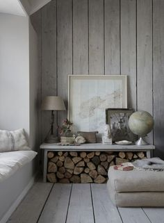Wood Walls The Oyster Catcher, Luxury Cornish self-catering holiday home Mousehole,Lu xury … Living Room Modern, Living Room Decor, Living Rooms, Ship Lap Walls, Home And Deco, Wooden Walls, Interior Inspiration, Interior Ideas, Family Room