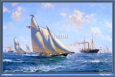 sailboat paintings on canvas - Pesquisa Google