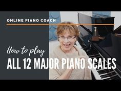 Piano Music, Music Songs, Sheet Music, Piano Scales, Musical Composition, Major Scale, Free Piano, Piano Tutorial, Easy Piano