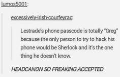 "I think Sherlock is doing it on purpose now, after John said ""That's his name! - Sherlock - BBC One Sherlock Holmes, Sherlock Fandom, Sherlock John, Sherlock Quotes, Sherlock Humor, Sherlock Poster, Sherlock Season, Watson Sherlock, Jim Moriarty"