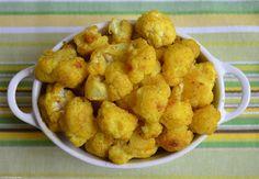 Cauliflower Tumeric Snack by Sage Mommies