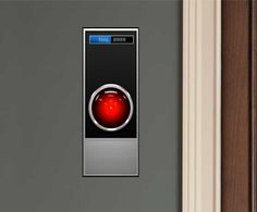HAL 9000 Fathead-Style Wall Graphic for fans of 2001: A Space Odyssey - Images and Words Graphics