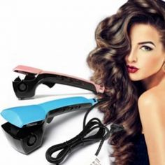 23 Best Hair Curler Under 10 Hair Curler Holder Wall Mount Soft Curls, Natural Curls, Hair Curling Machine, Curled Hairstyles, Cool Hairstyles, Best Hair Curler, Natural Oils For Skin, Different Hair Types, Bouncy Curls