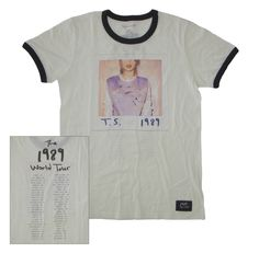 Check out the deal on 1989™ Album Cover Tour Ringer Tee at Taylor Swift Official Online Store