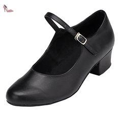 Minitoo , Salle de bal femme - noir - noir, 36.5 - Chaussures minitoo (*Partner-Link)