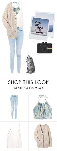 """""""Waves are calling"""" by lookitsbronwyn ❤ liked on Polyvore featuring Moschino, Amen., Acne Studios and Polaroid"""