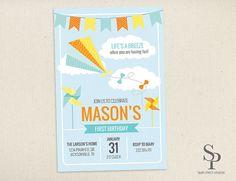 DIY Printable Kite Pinwheel Life's a Breeze by SimplePieceDesigns