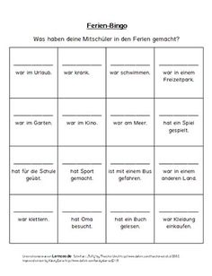 Holiday bingo for the first day after the holidays (elementary school) - Art Education ideas Primary Education, Primary School, Special Education, Elementary Schools, School Classroom, Classroom Activities, School Teacher, Bingo, First Day Of School