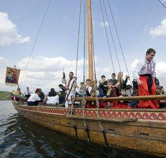 "Cossack boat ""Chaika"""