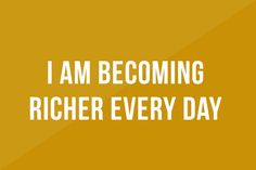 10 Money Affirmations That Really Work! I am a money magnet. Money comes to me naturally. My income exceeds my expenses. I attract money easily. Money...