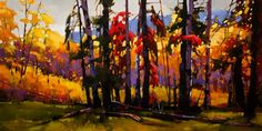 The Tulameen Valley, by Mike Svob, my favourite Canadian artist