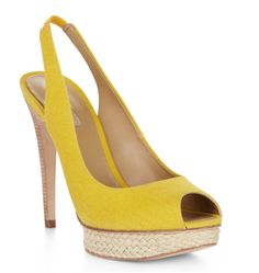 WIN these fennel peep-toe pumps from BCBGMAXAZRIA in size 9!