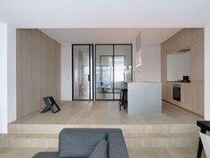 Amsterdam Apartment Is A Minimalist Residence Located In Amsterdam,  Netherlands, Designed By Frederik Roijé. Frederik Roijé Renovated And  Designed The ...