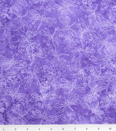 Keepsake Calico Cotton Fabric-Sundrenched Dragonfly Lavender