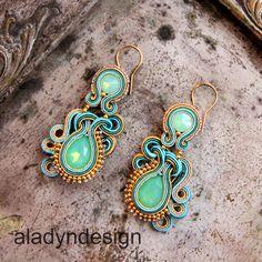 soutache earrings https://www.facebook.com/aladyndesign/