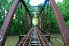 Love this bridge in Mooresville, IN
