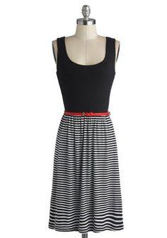 Stately Lines Dress, #ModCloth